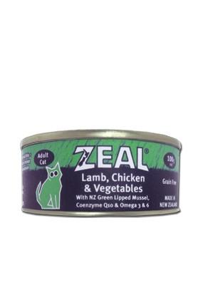 紐西蘭Zeal無穀低敏貓餐罐