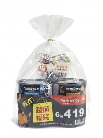 {福袋組}Subzero頂級無穀主食貓罐-156G