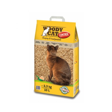 ☆國際貓家☆Woody Cat伍德凝結木屑貓砂3.3KG- 10L