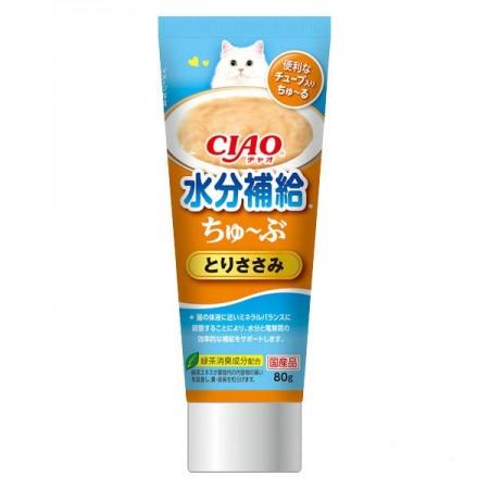 ☆國際貓家☆ 日本CIAO - 水分補給肉泥膏80G