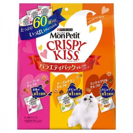 MonPetit CRISPY KISS 貓倍麗 量販包 親親餅乾 貓咪潔牙零食 6克*30包