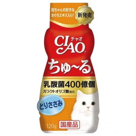 ☆國際貓家☆CIAO 啾嚕乳酸菌肉泥胖胖瓶-120G