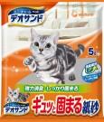 ☆國際貓家,日本原裝進口紙砂☆日本Unicharm消臭大師-消臭紙砂5L