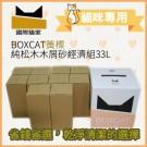 【天然松木貓砂】國際貓家黃標33L經濟組 松木木屑貓砂
