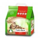 *國際貓家*CAT'S BEST 凱優紅標凝結木屑砂-經典4.3KG-10L*5包組