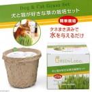 ☆國際貓家,新鮮貓草自己種最健康☆《GREEN Labo》日本DIY新鮮貓草