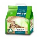 ★國際貓家★德國凱優CAT'S BEST 強效除臭木屑砂8L(凝結)*3包組