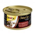 ☆國際貓家☆ GimCat 竣寶化毛貓罐70g-雞肉+鮮蝦+麥芽