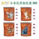 ☆國際貓家☆X-701 CAT寵物天然凍乾鮮食-300G