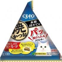 ★國際貓家★CIAO 三角包裝 夾心餅乾 -扇貝風味 30g