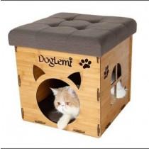 ☆國際貓家,潮人必備☆寵物兩用摺疊窩-4色