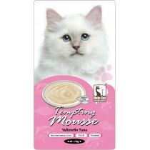 ☆國際貓家☆Hulu Cat 誘惑的慕絲肉泥-15G-4條入