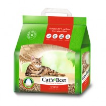 *國際貓家*CAT'S BEST 凱優紅標凝結木屑砂-經典4.3KG-10L