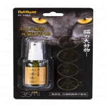 ☆國際貓家☆貓の大好物【蟲癭果噴劑35ML】