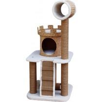 ☆國際貓家☆美國Petpals城堡型紙繩編織遊憩貓跳台-3層