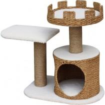 ☆國際貓家☆美國Petpals城堡型紙繩編織遊憩貓跳台-2層