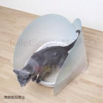 ☆國際貓家☆Tollet Screen 貓用廁所擋片(淺藍/淺黃)